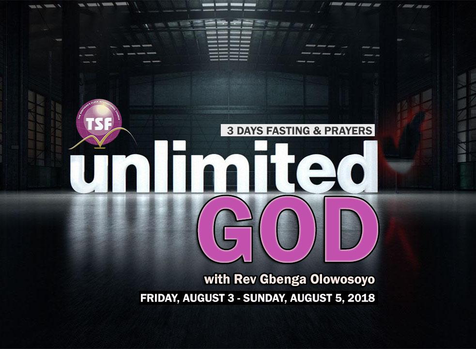 UNLIMITED GOD - 3 DAYS FASTING & PRAYERS PROGRAM
