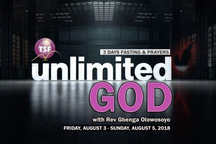 UNLIMITED GOD - 3 DAYS FASTING & PRAYERS PROGRAM