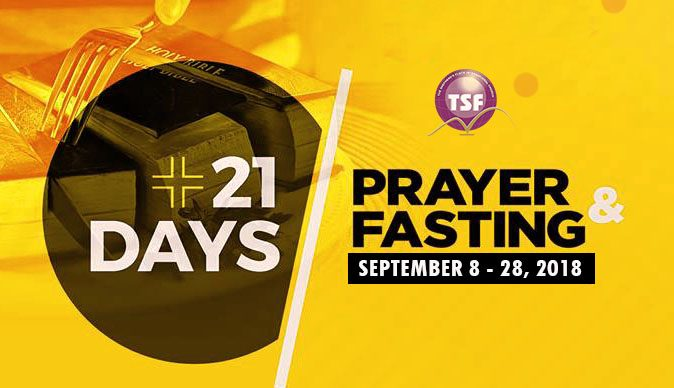 21 DAYS FASTING & PRAYER