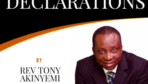 Prophetic Declarations by Rev Tony Akinyemi