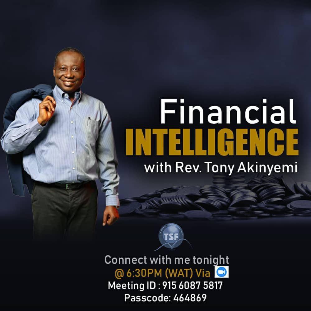 Financial Intelligence Pt 4 || Rev Tony Akinyemi